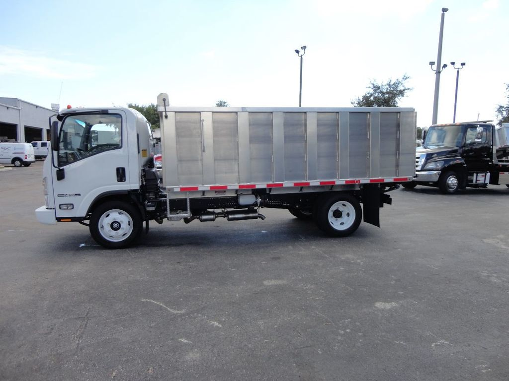 2018 Isuzu NPR HD 14FT ALUMINUM LANDSCAPE DUMP TRUCK ADVANCED FABRICATORS - 18156713 - 28