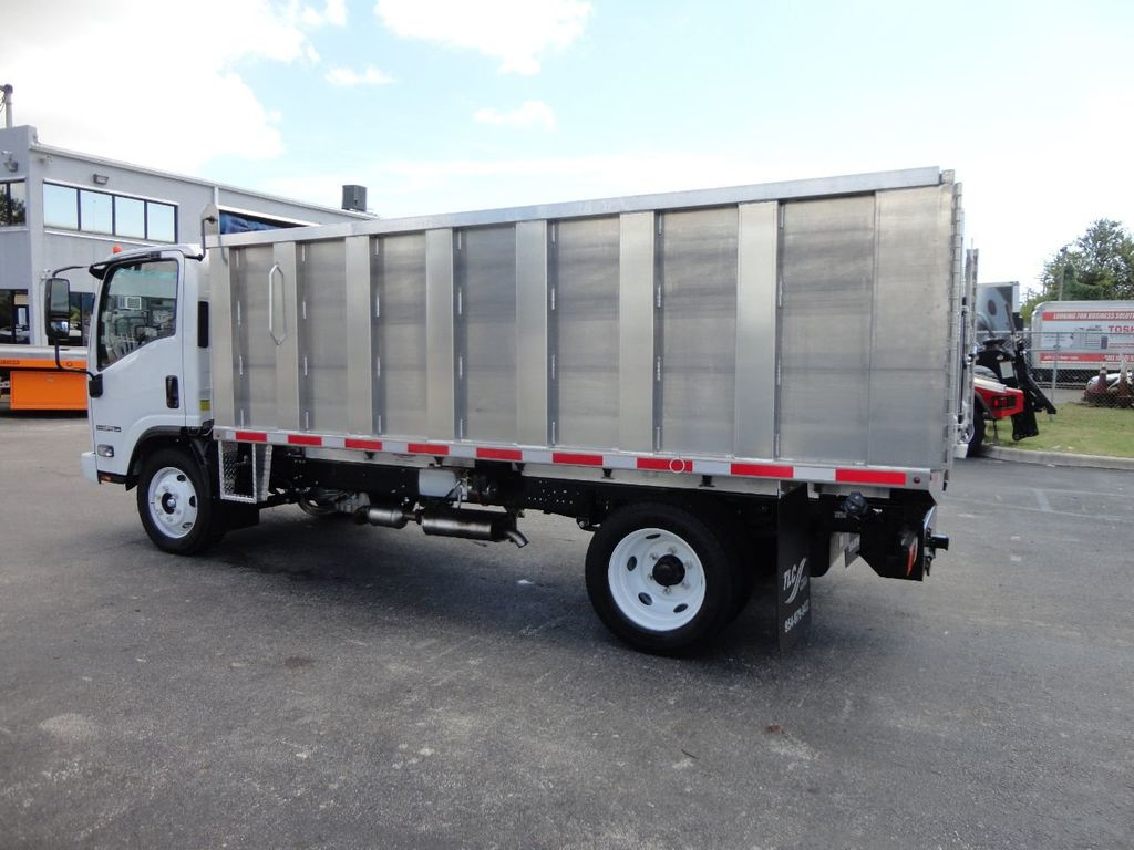 2018 Isuzu NPR HD 14FT ALUMINUM LANDSCAPE DUMP TRUCK ADVANCED FABRICATORS - 18156713 - 29