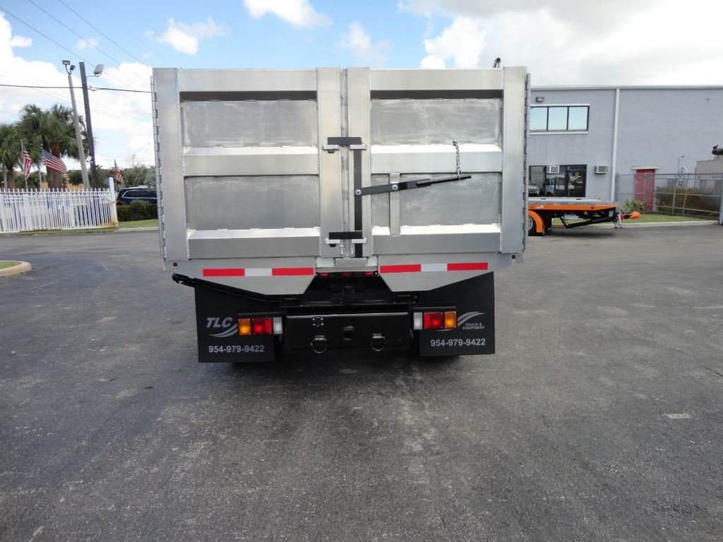 2018 Isuzu NPR HD 14FT ALUMINUM LANDSCAPE DUMP TRUCK ADVANCED FABRICATORS - 18156713 - 31
