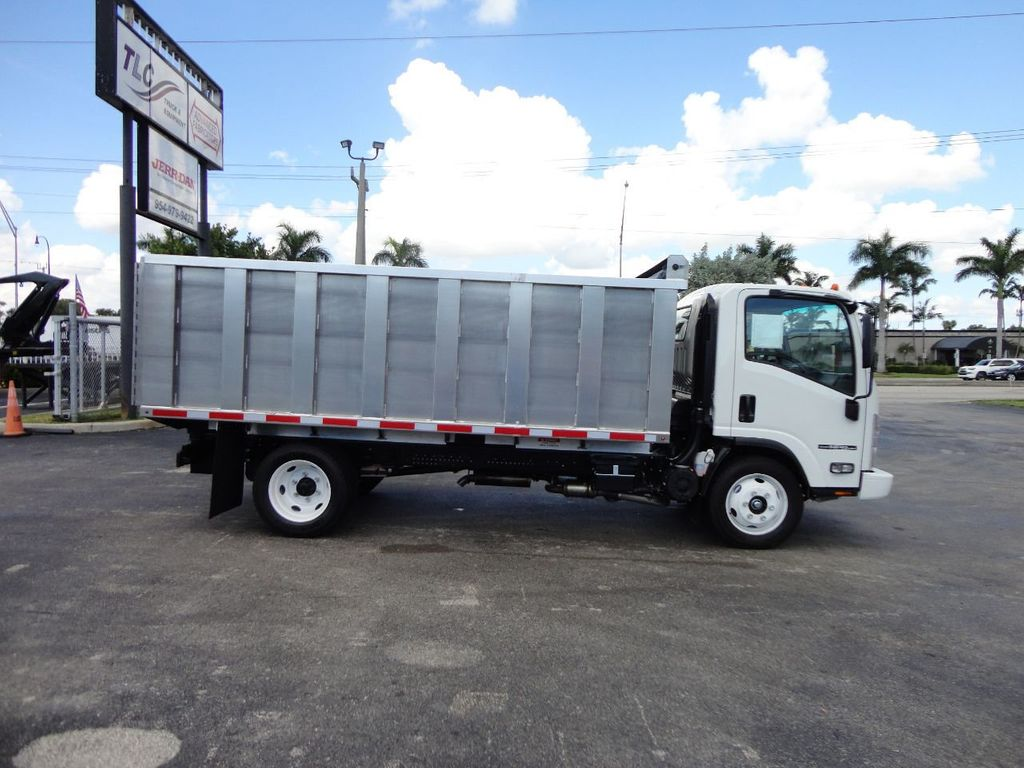 2018 Isuzu NPR HD 14FT ALUMINUM LANDSCAPE DUMP TRUCK ADVANCED FABRICATORS - 18156713 - 34