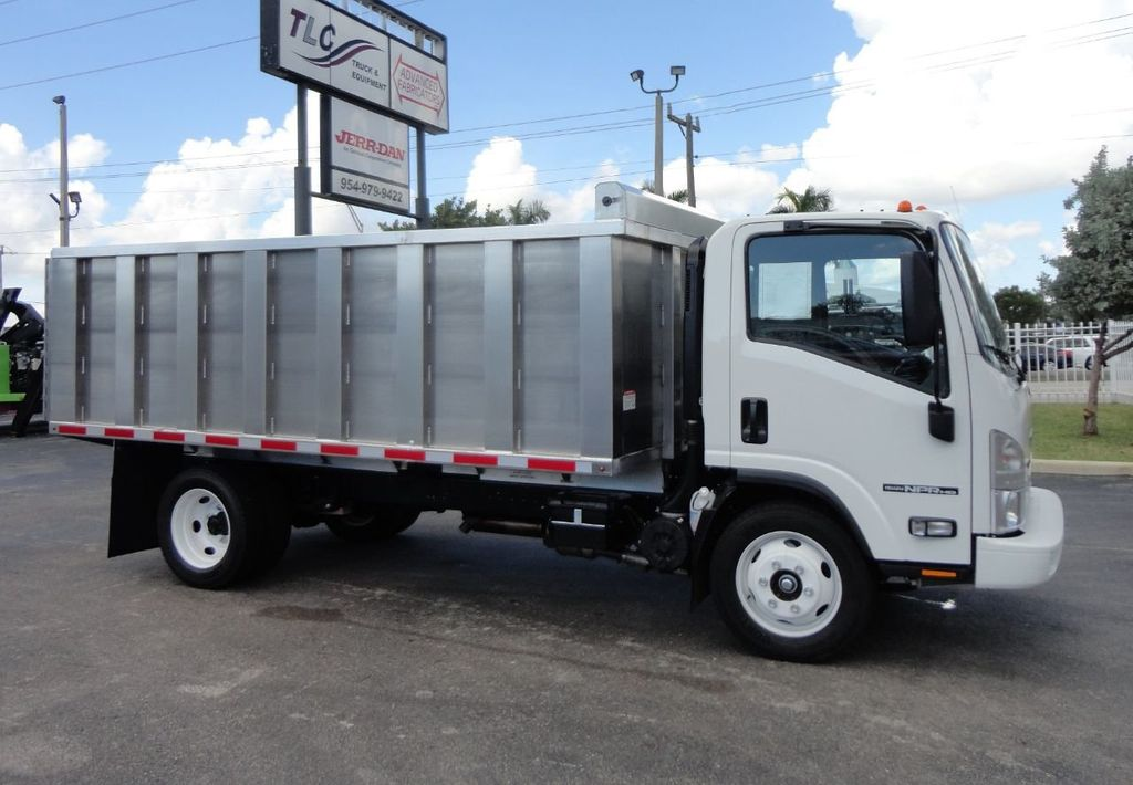 2018 Isuzu NPR HD 14FT ALUMINUM LANDSCAPE DUMP TRUCK ADVANCED FABRICATORS - 18156713 - 35