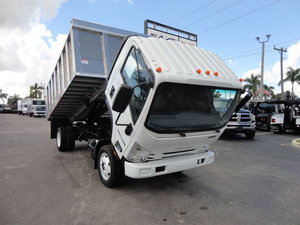 2018 Isuzu NPR HD 14FT ALUMINUM LANDSCAPE DUMP TRUCK ADVANCED FABRICATORS - 18156713 - 4
