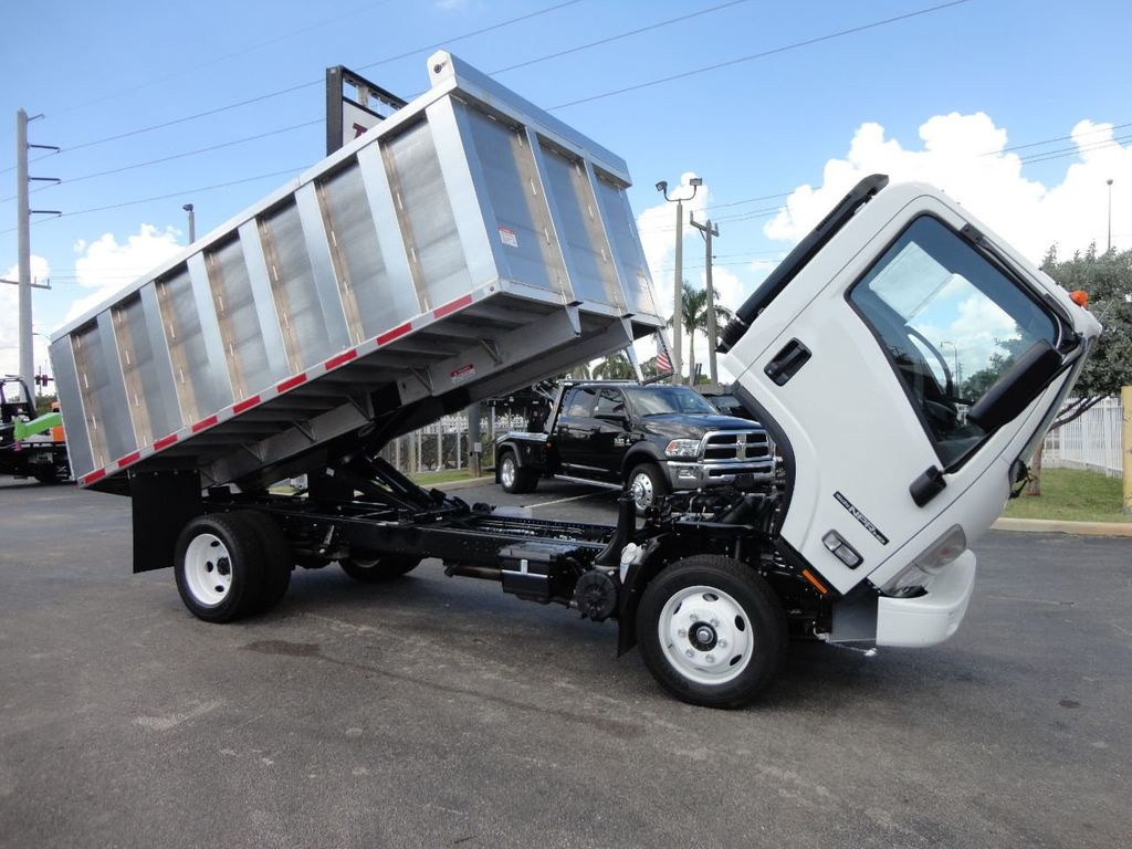 2018 Isuzu NPR HD 14FT ALUMINUM LANDSCAPE DUMP TRUCK ADVANCED FABRICATORS - 18156713 - 5