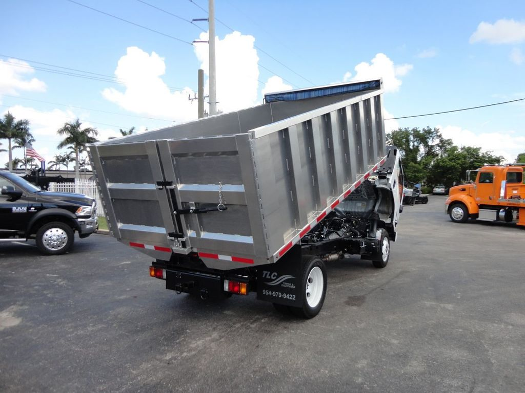 2018 Isuzu NPR HD 14FT ALUMINUM LANDSCAPE DUMP TRUCK ADVANCED FABRICATORS - 18156713 - 8