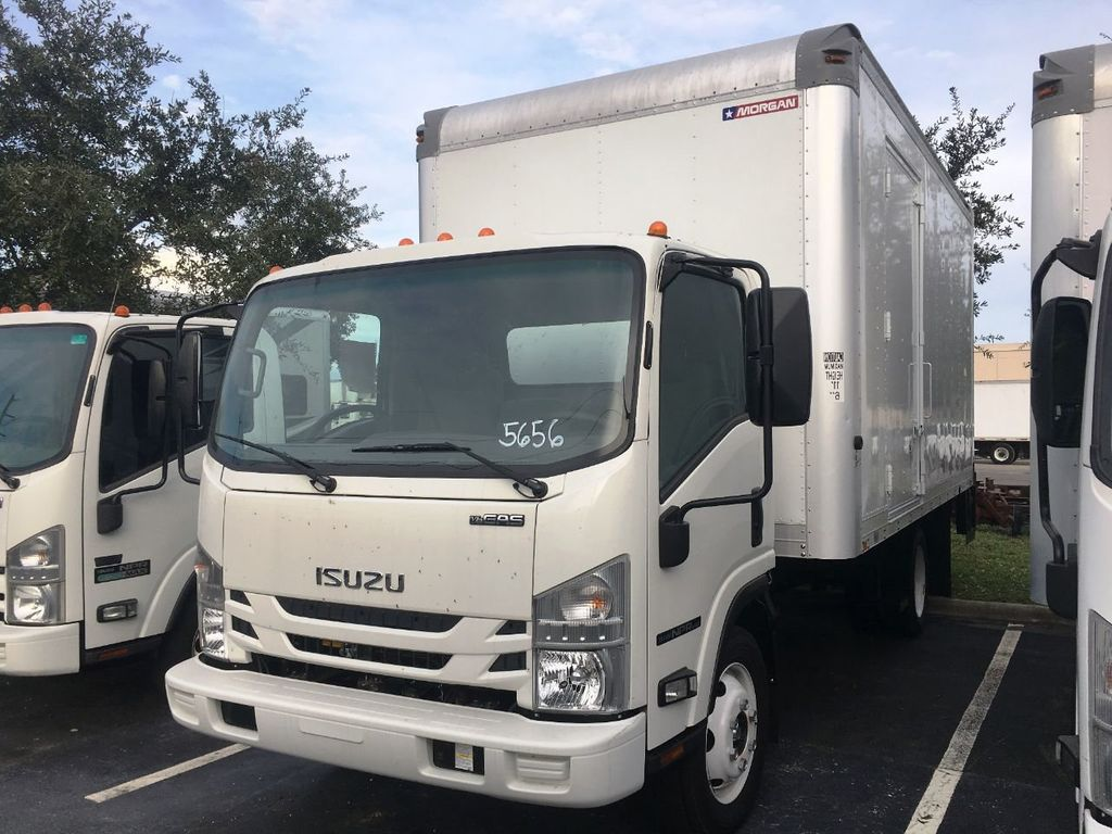 2018 Isuzu NPR HD 16FT DRY BOX.TUCK UNDER LIFTGATE BOX TRUCK CARGO TRUCK - 18340876 - 0