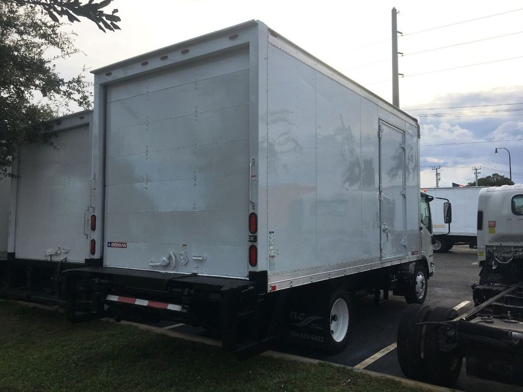 2018 Isuzu NPR HD 16FT DRY BOX.TUCK UNDER LIFTGATE BOX TRUCK CARGO TRUCK - 18340876 - 2