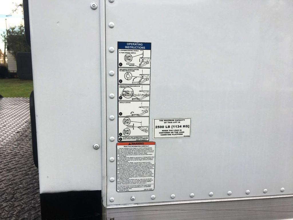 2018 Isuzu NPR HD 16FT DRY BOX.TUCK UNDER LIFTGATE BOX TRUCK CARGO TRUCK - 18340876 - 6