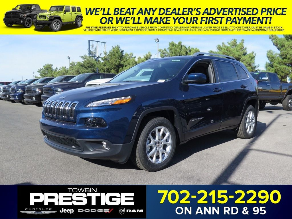 2018 Jeep Cherokee Latitude Plus FWD - 16949016 - 0