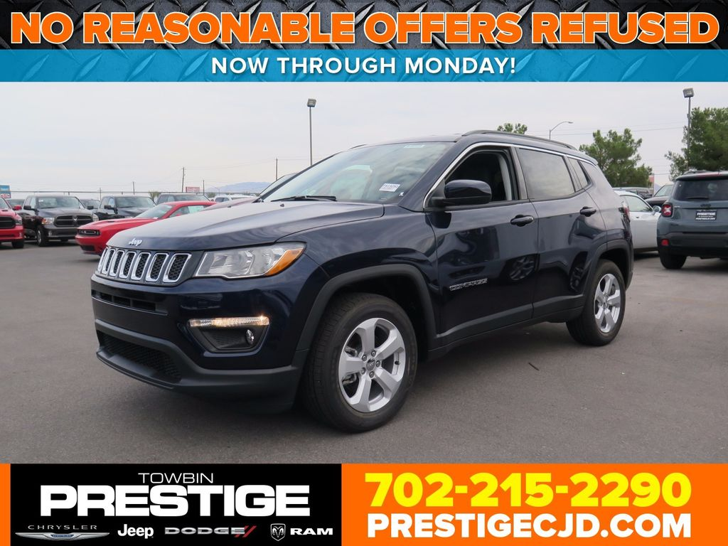 2018 Jeep Compass Latitude FWD - 16833921 - 0