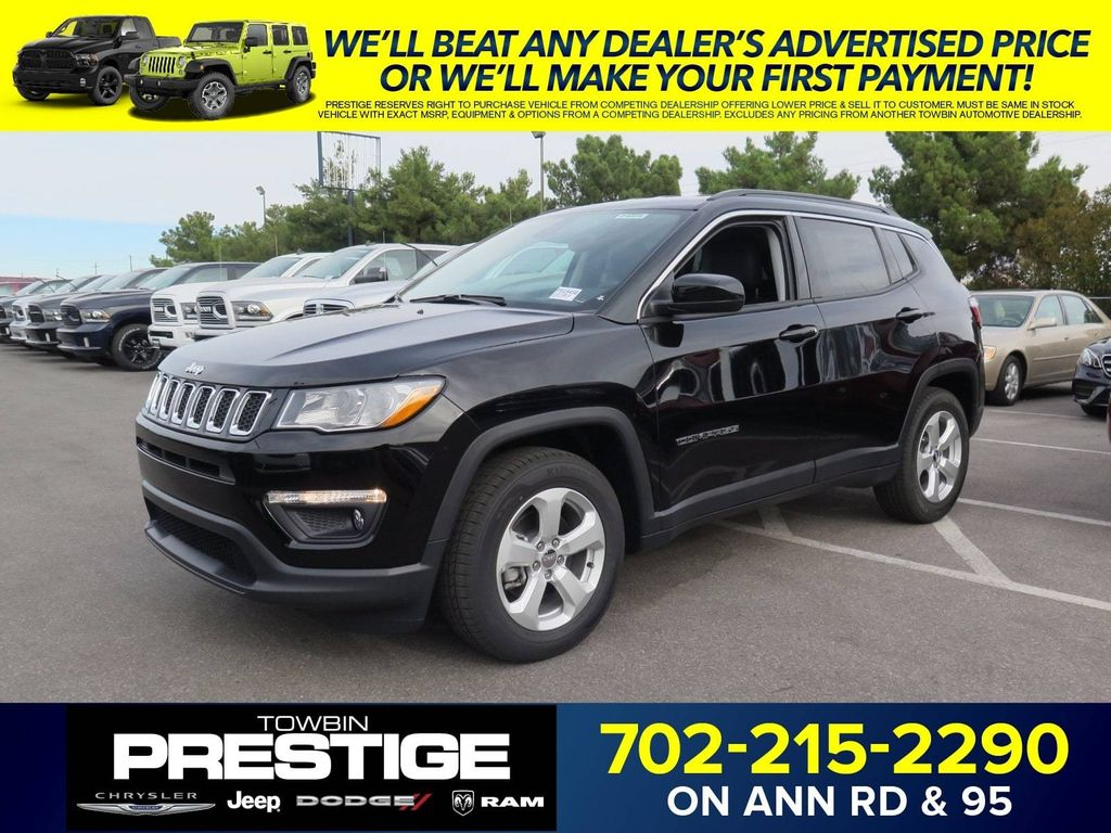 2018 New Jeep Comp Laude Fwd At Towbin Auto Nv Iid 16926111