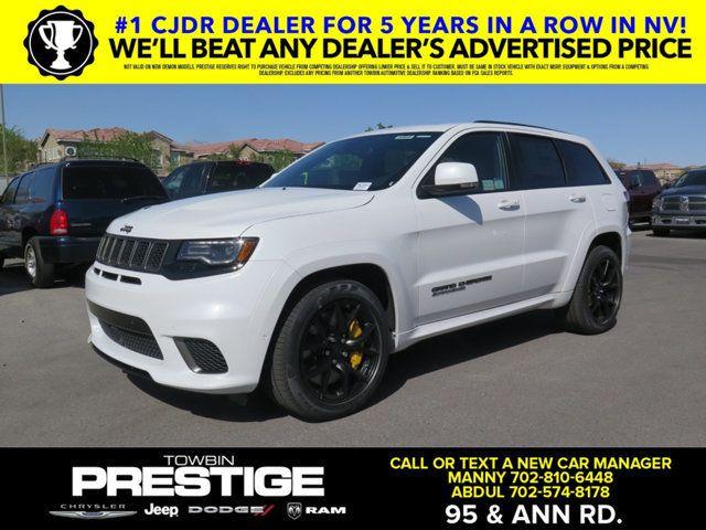 2018 New Jeep Grand Cherokee Trackhawk 4x4 At Prestige Chrysler Jeep Dodge Serving Las Vegas Nv Iid 17498404