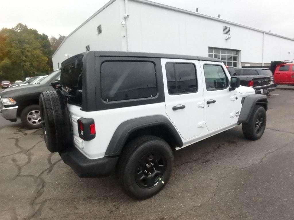 2018 Jeep Wrangler Unlimited Sport 4x4 - 18157024 - 4