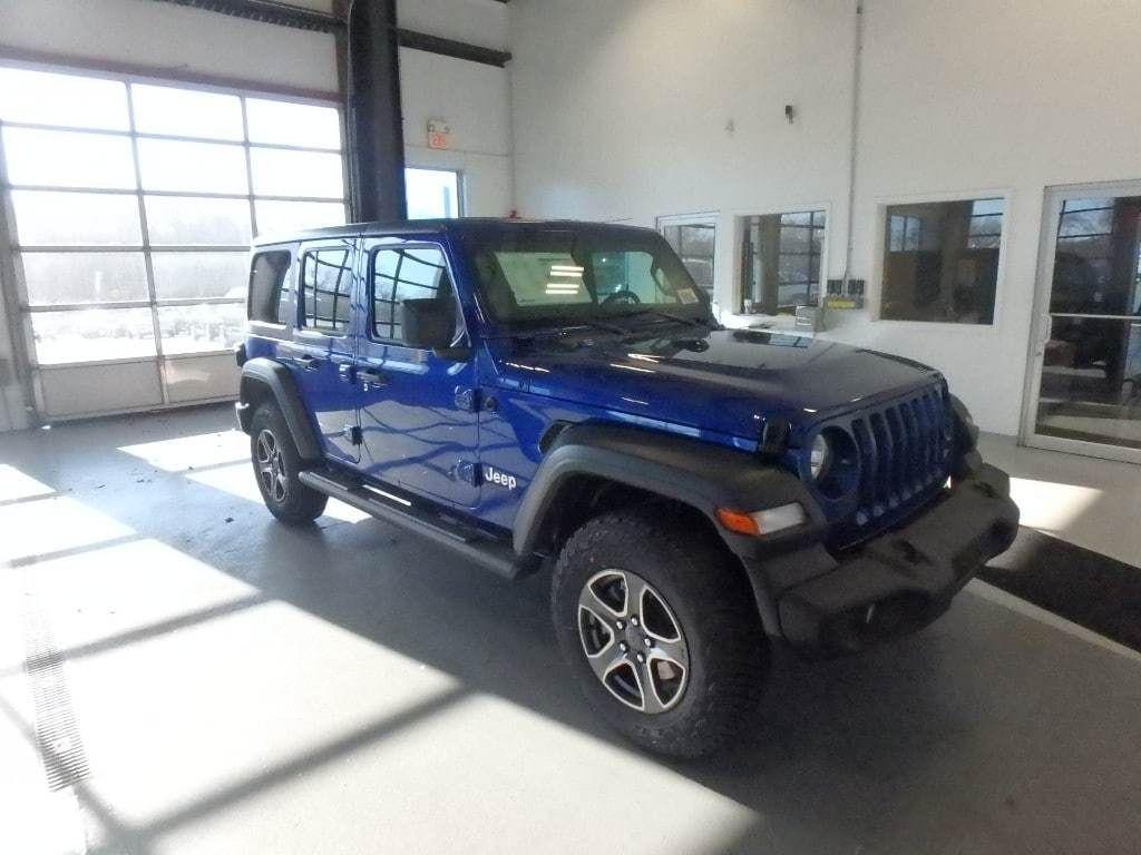 2018 Jeep Wrangler Unlimited Sport S 4x4 - 18374879 - 1