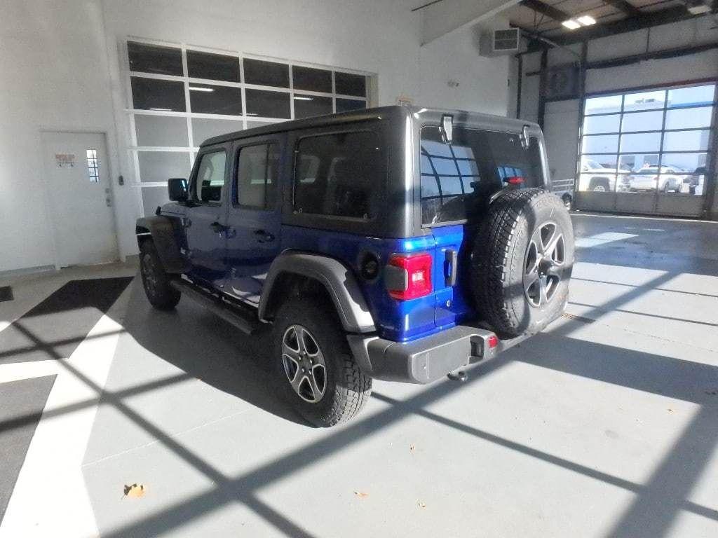 2018 Jeep Wrangler Unlimited Sport S 4x4 - 18374879 - 5