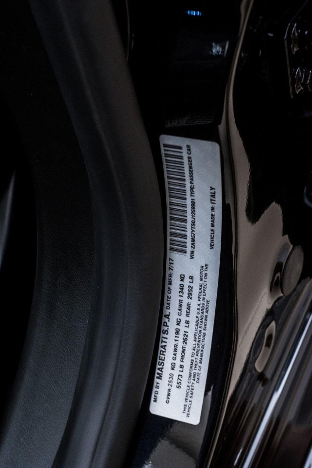 2018 Maserati Ghibli S Q4 GranSport 3.0L - 16969117 - 49