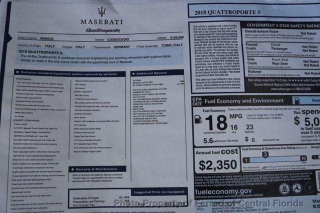 2018 Maserati Quattroporte S 3.0L - 17899582 - 38