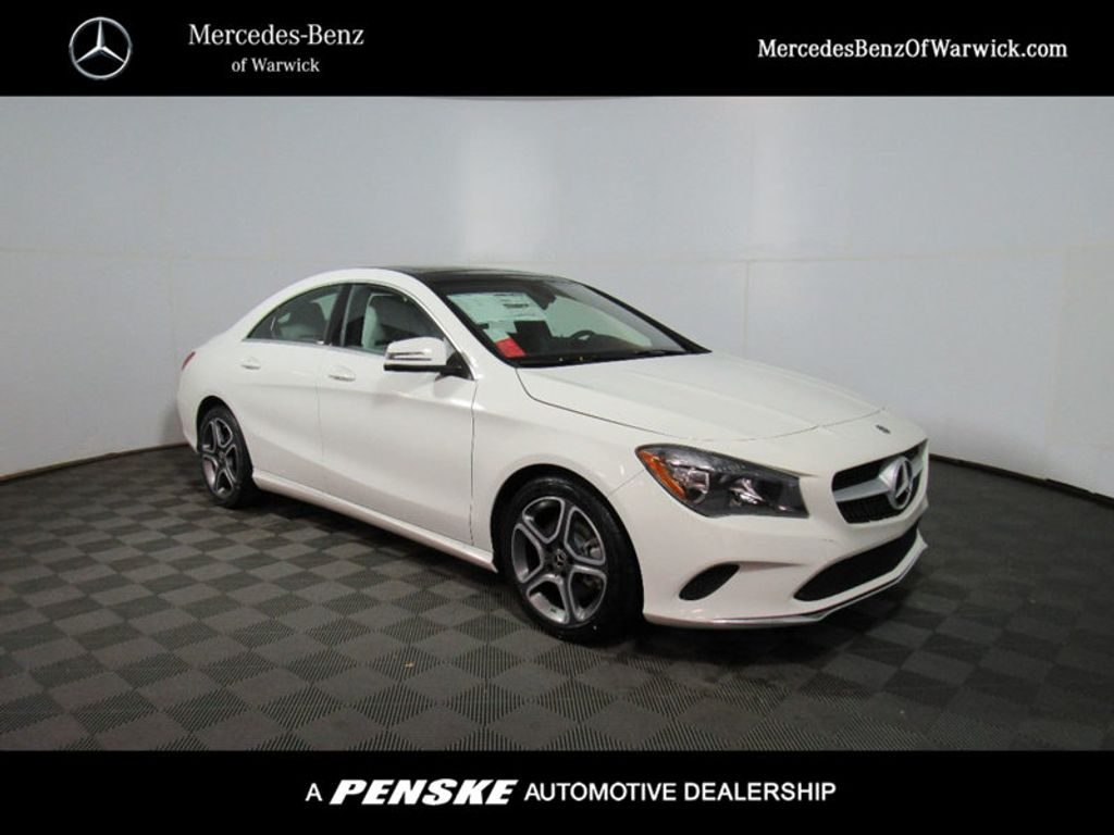 2018 new mercedes benz cla cla 250 4matic coupe at inskip for Contact mercedes benz financial