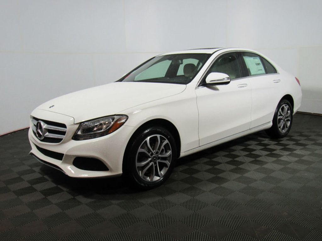 2018 new mercedes benz c class c 300 4matic sedan at for Mercedes benz c service cost