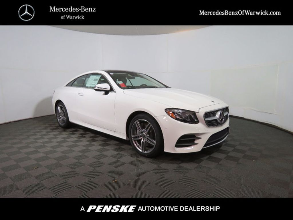 2018 new mercedes benz e class e 400 4matic coupe at for Mercedes benz of warwick