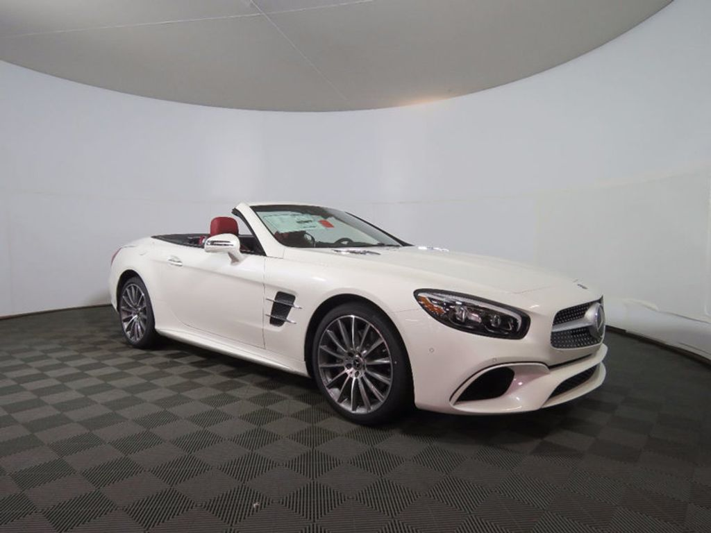2018 new mercedes benz sl sl 550 roadster at mercedes benz for Mercedes benz of warwick warwick ri