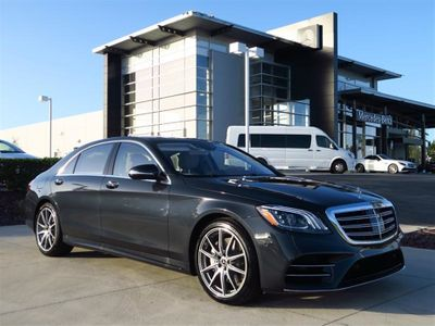 2018 Mercedes Benz S Class S 450 Sedan Not Specified For