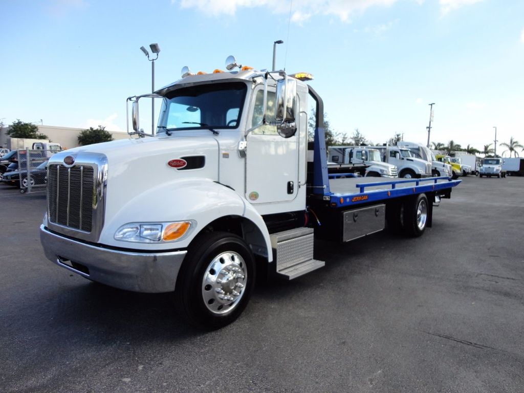 2018 Peterbilt 337 AIR BRAKE.AIR RIDE.SUS.22SRR6T-WLP XLP JERRDAN AAA BLUE - 15842392 - 0