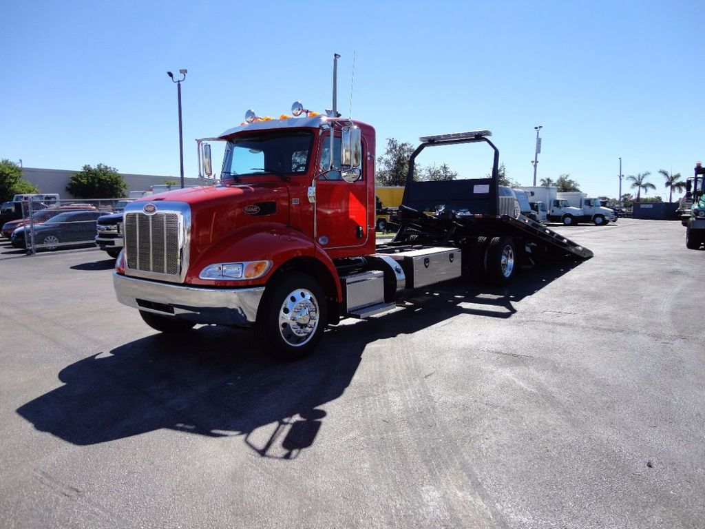 2018 Peterbilt 337 ..AIR BRAKE..AIR RIDE SUS.22SRRD6T-W-LP SHARK ROLLBACK - 17001031 - 1