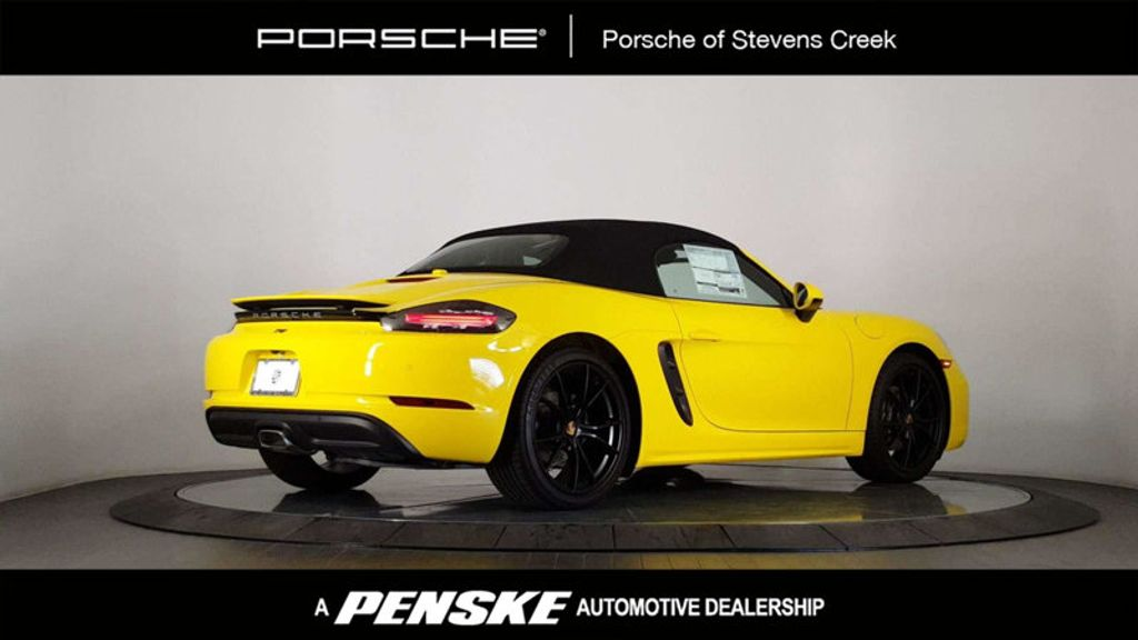 2018 New Porsche 718 Boxster Roadster At Porsche Stevens Creek Serving Santa Clara San Jose Ca