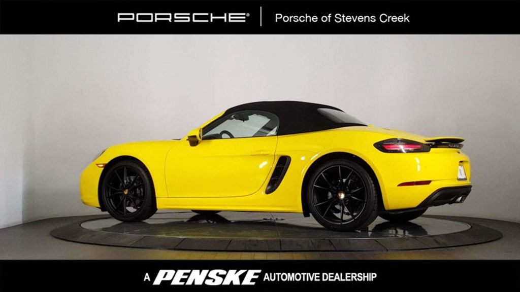 2018 New Porsche 718 Boxster Roadster At Porsche Stevens