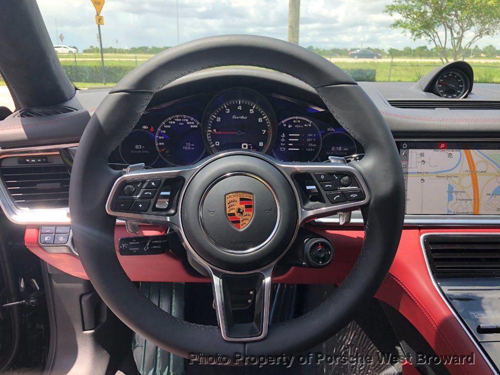 2018 Porsche Panamera Turbo AWD - 17954795 - 19