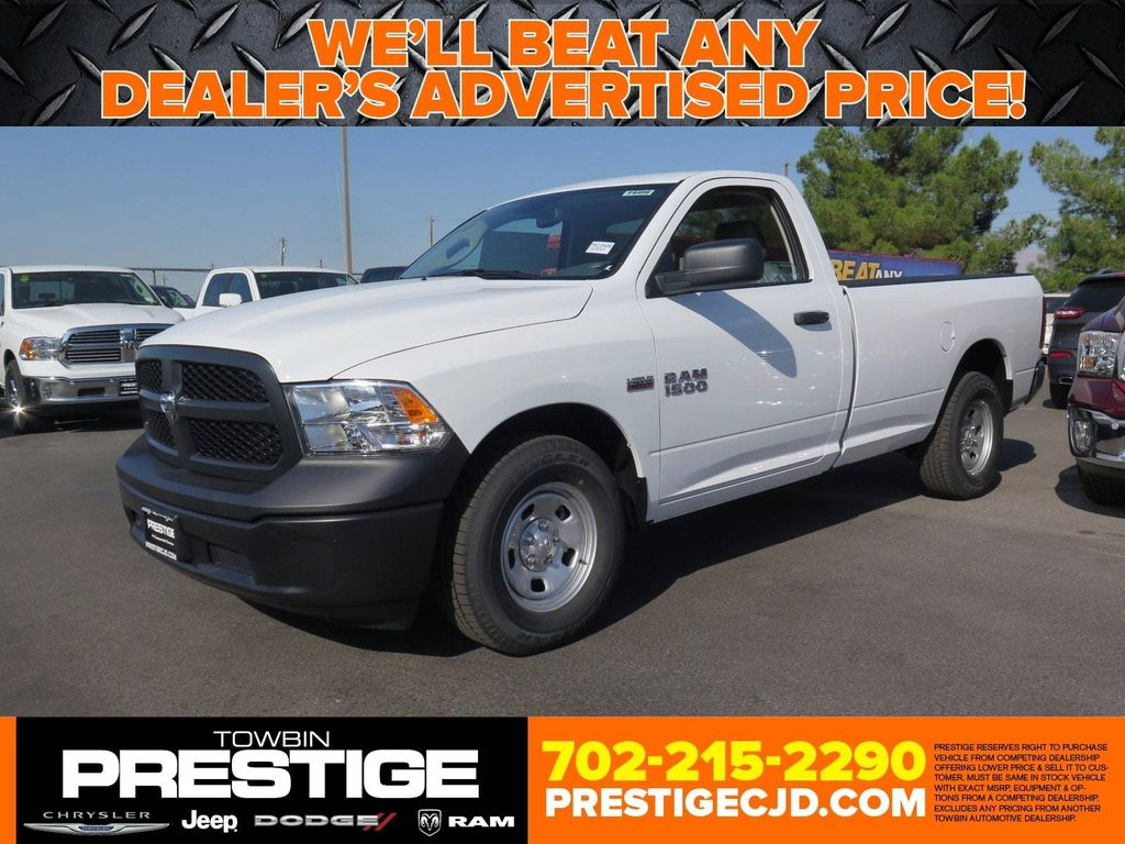 2018 Ram 1500 Tradesman 4x2 Regular Cab 8' Box - 16940459 - 0