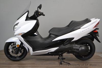 2018 Suzuki BURGMAN 400 ABS  - Click to see full-size photo viewer
