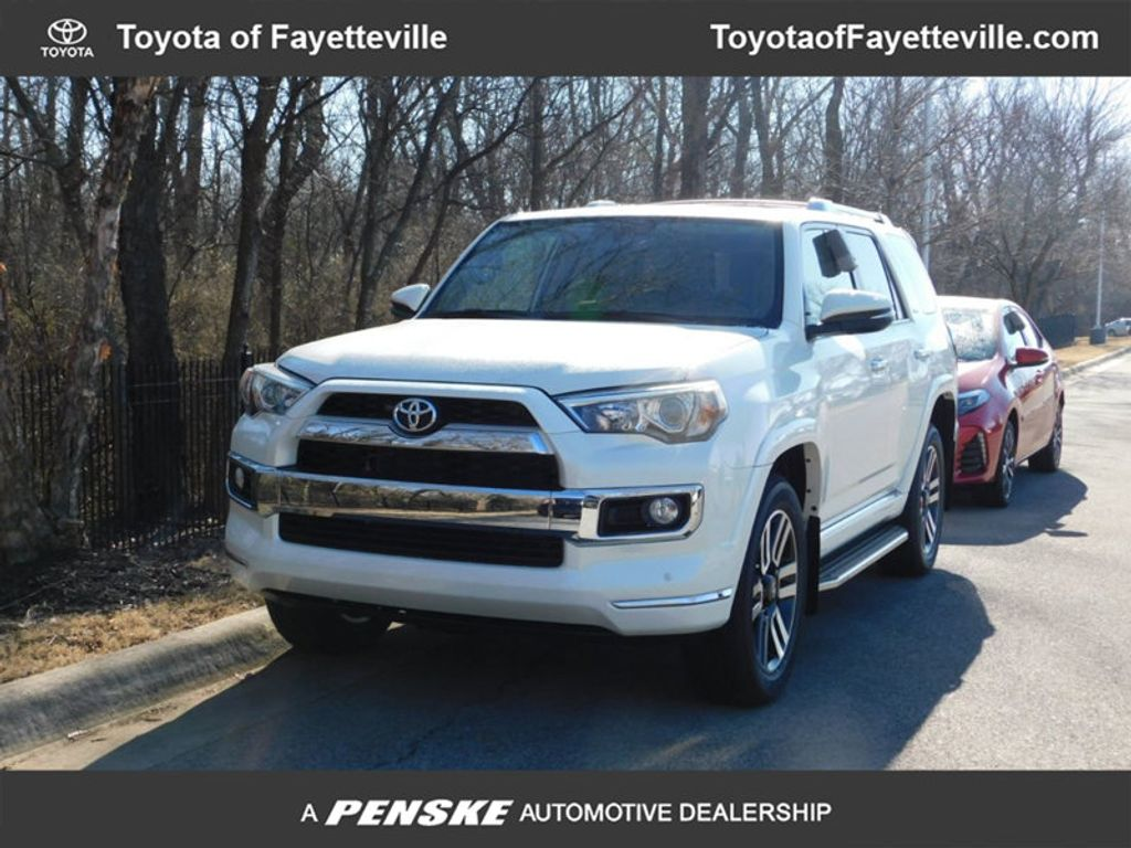 2018 new toyota 4runner limited 4wd at toyota of fayetteville serving nwa springdale rogers. Black Bedroom Furniture Sets. Home Design Ideas