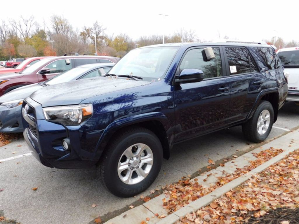 2018 new toyota 4runner sr5 2wd at toyota of fayetteville serving nwa springdale rogers. Black Bedroom Furniture Sets. Home Design Ideas