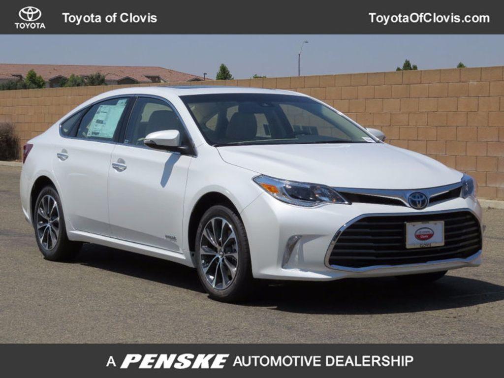 Clovis Toyota Service 2018 New Toyota Avalon Hybrid XLE Premium at Toyota of ...