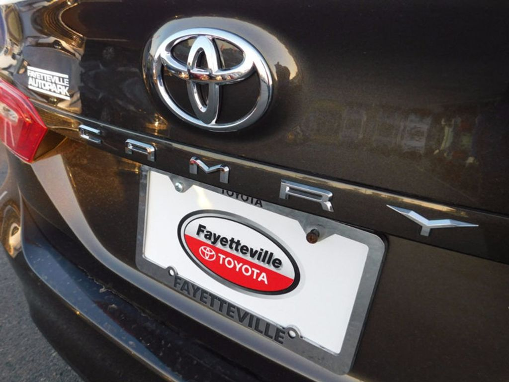 Toyota toyota camry trunk space : 2018 New Toyota Camry LE Automatic at Toyota of Fayetteville ...