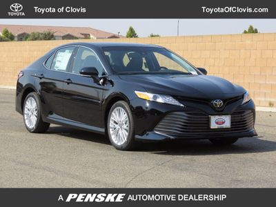 2018 Toyota Camry XLE V6 Automatic Sedan - Click to see full-size photo viewer