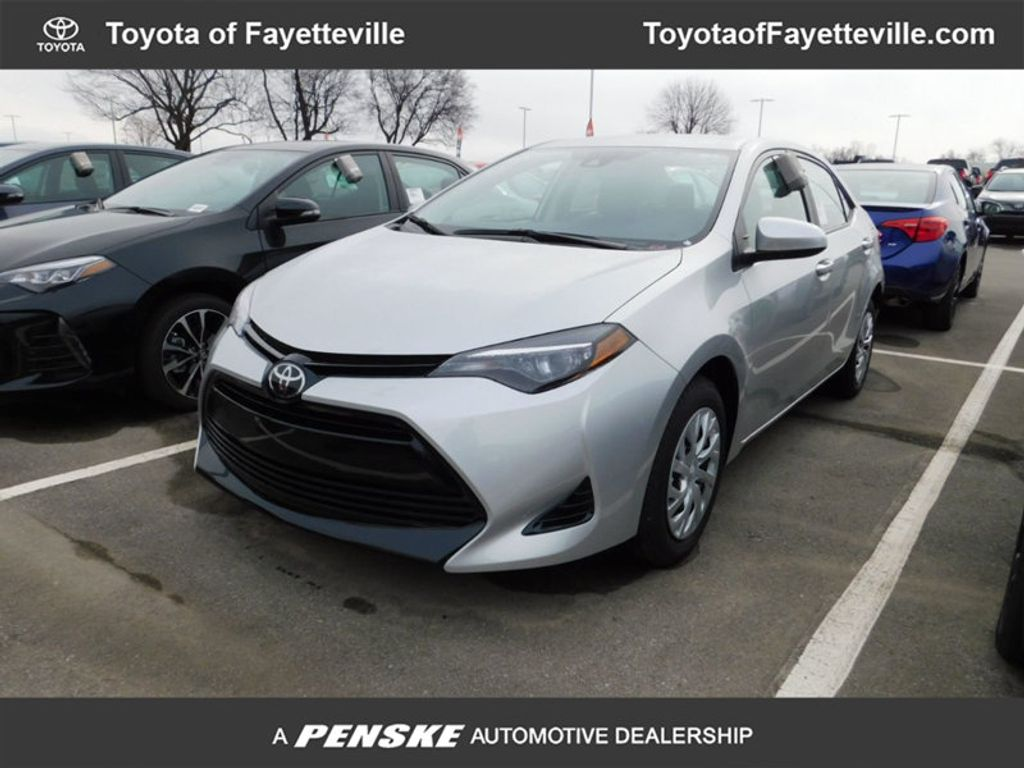 2018 new toyota corolla le cvt at fayetteville autopark iid 17212381. Black Bedroom Furniture Sets. Home Design Ideas