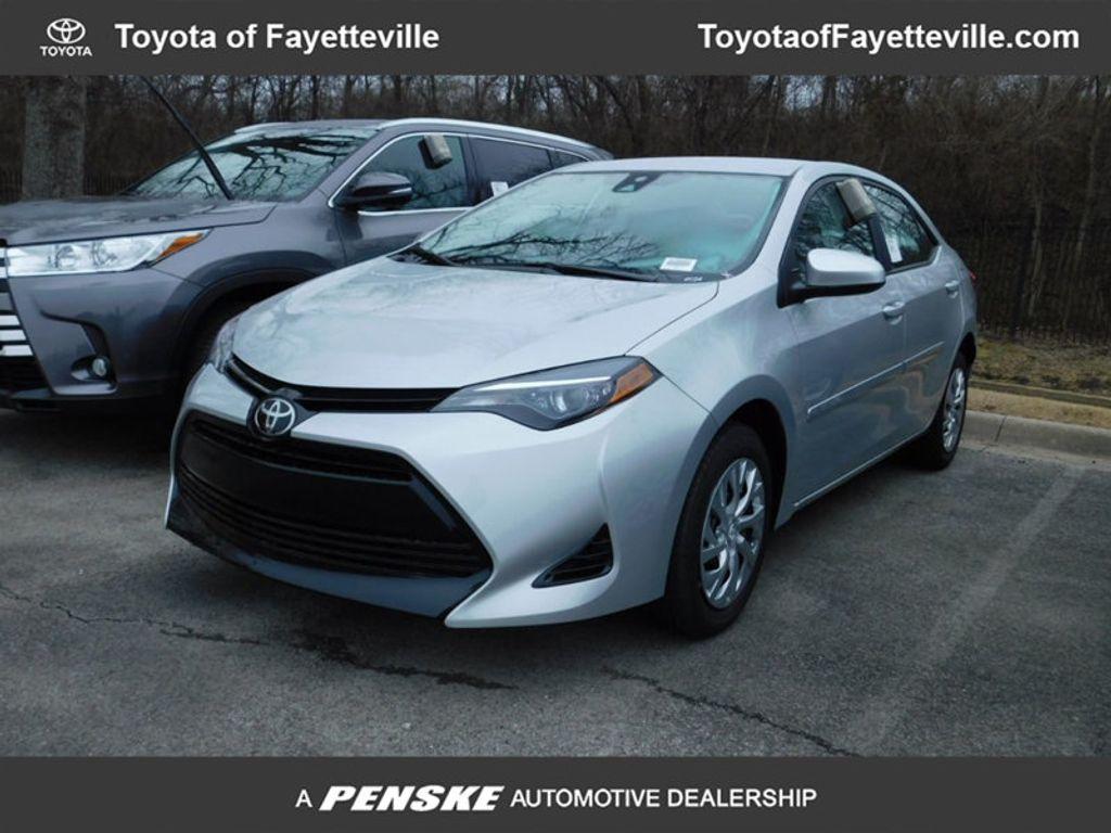 2018 New Toyota Corolla Le Cvt At Fayetteville Autopark