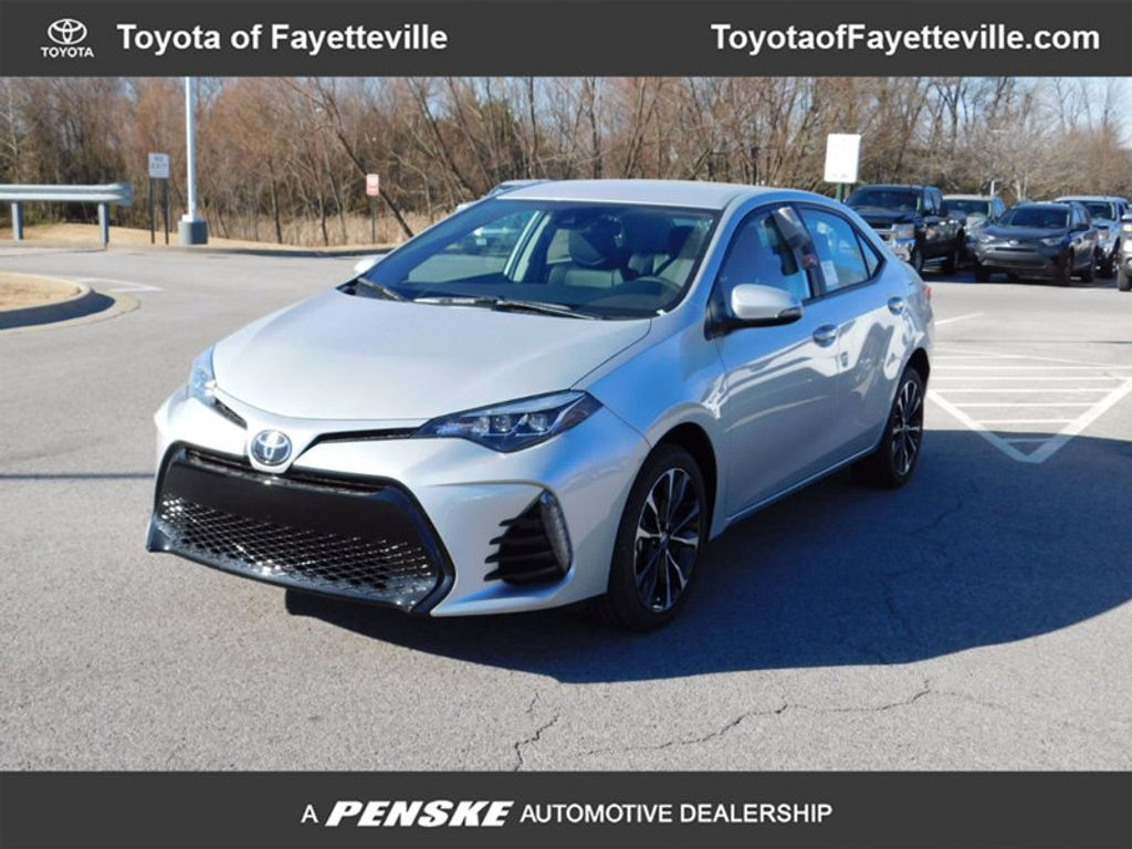 2018 new toyota corolla se cvt at toyota of fayetteville. Black Bedroom Furniture Sets. Home Design Ideas