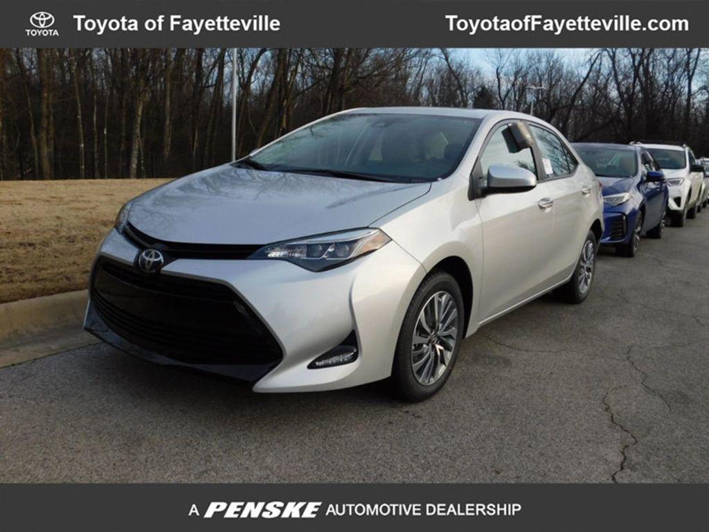 2018 New Toyota Corolla Xle Cvt At Fayetteville Autopark