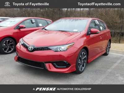 2018 Toyota Corolla iM CVT Sedan - Click to see full-size photo viewer
