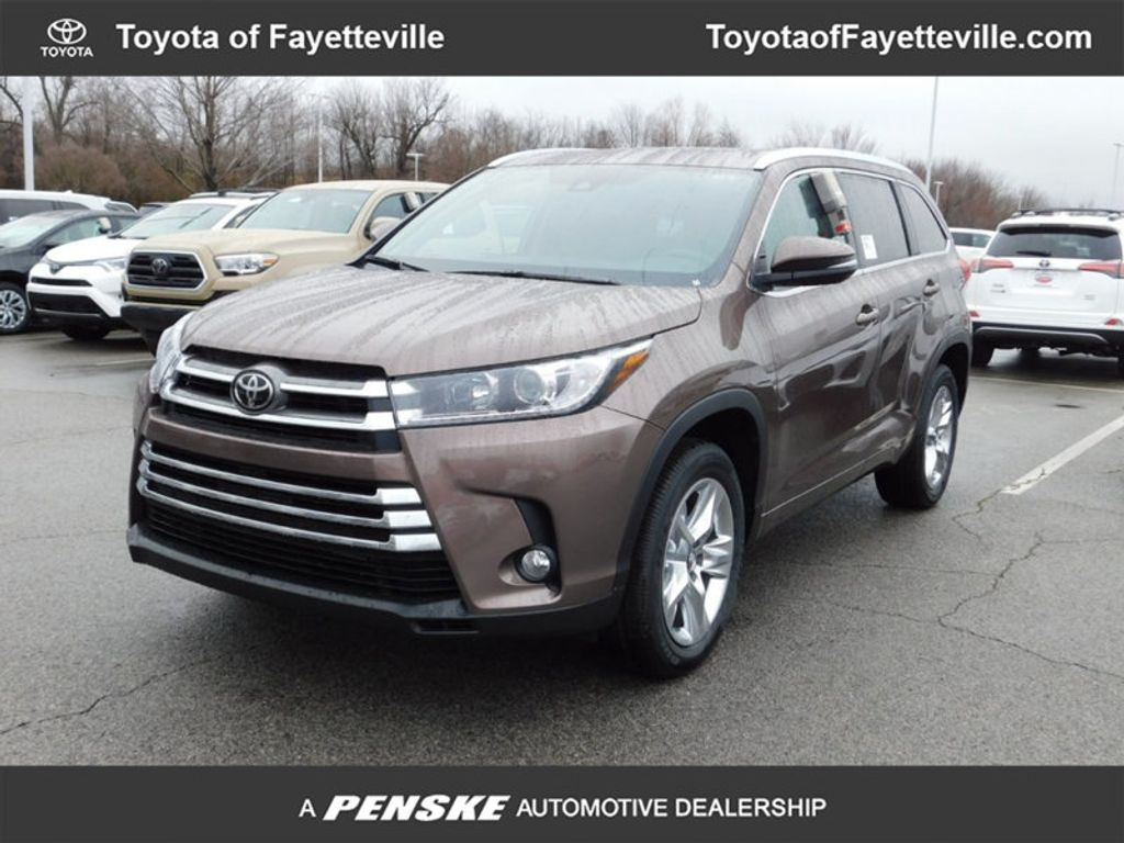 2018 new toyota highlander limited v6 fwd at fayetteville autopark iid 17162337. Black Bedroom Furniture Sets. Home Design Ideas