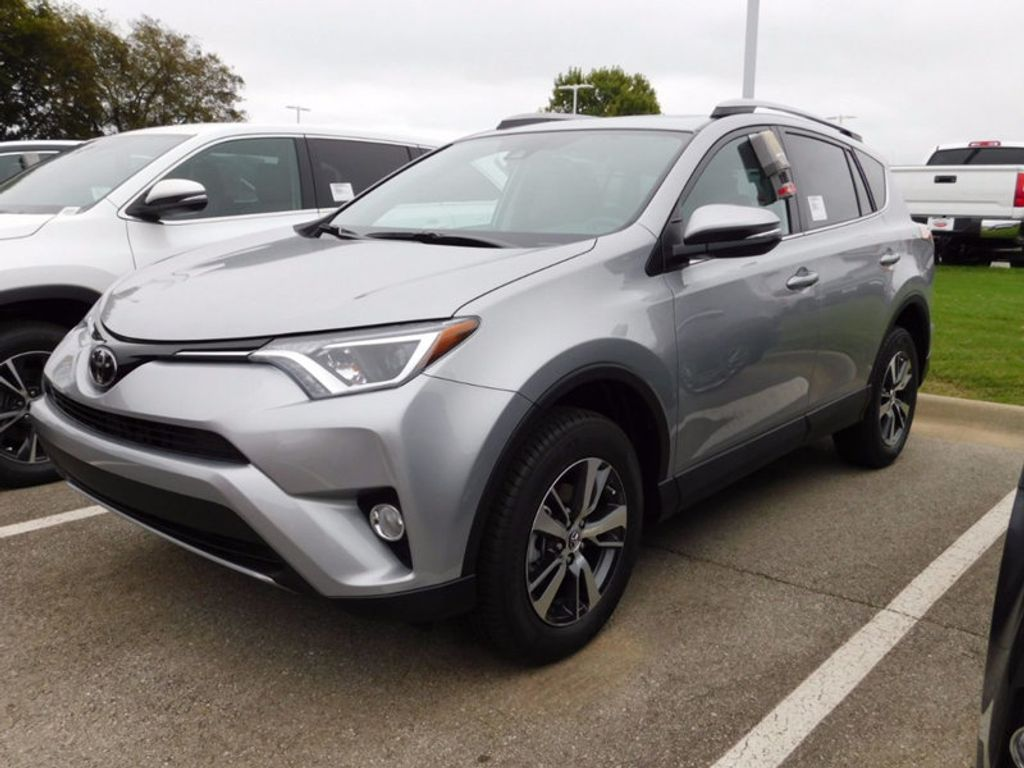 2018 new toyota rav4 xle awd at toyota of fayetteville. Black Bedroom Furniture Sets. Home Design Ideas