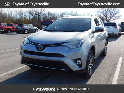 New 2018 Toyota RAV4 XLE AWD SUV
