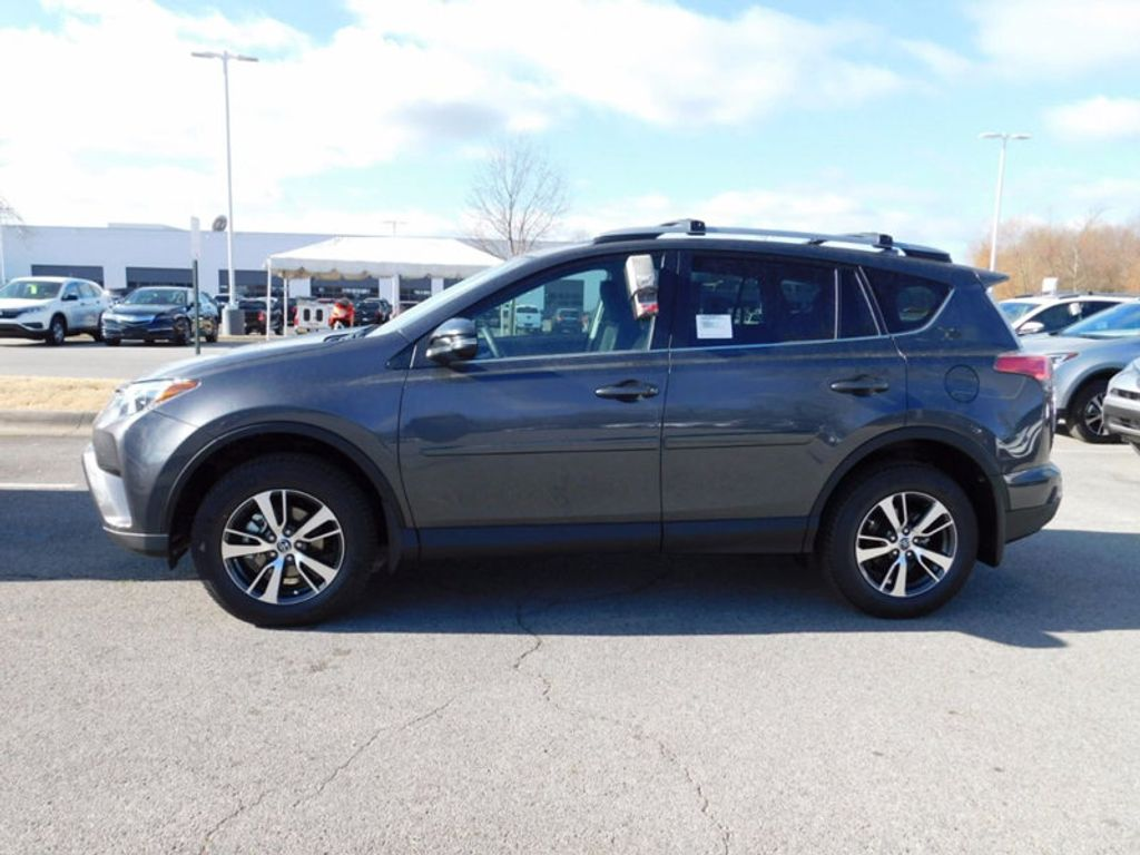 2018 New Toyota Rav4 Xle Awd At Toyota Of Fayetteville