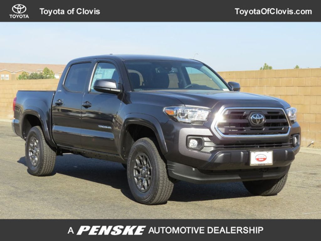 2018 New Toyota Tacoma Sr5 Double Cab 5 Bed V6 4x4 Automatic At Long Fuel Hostage Wheels 18005827 0