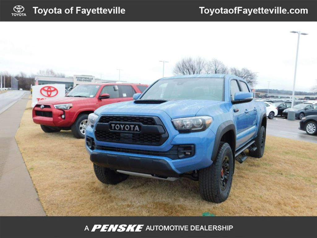 2018 Toyota Tacoma TRD Pro Double Cab 5' Bed V6 4x4 Automatic - 17162343 - 0