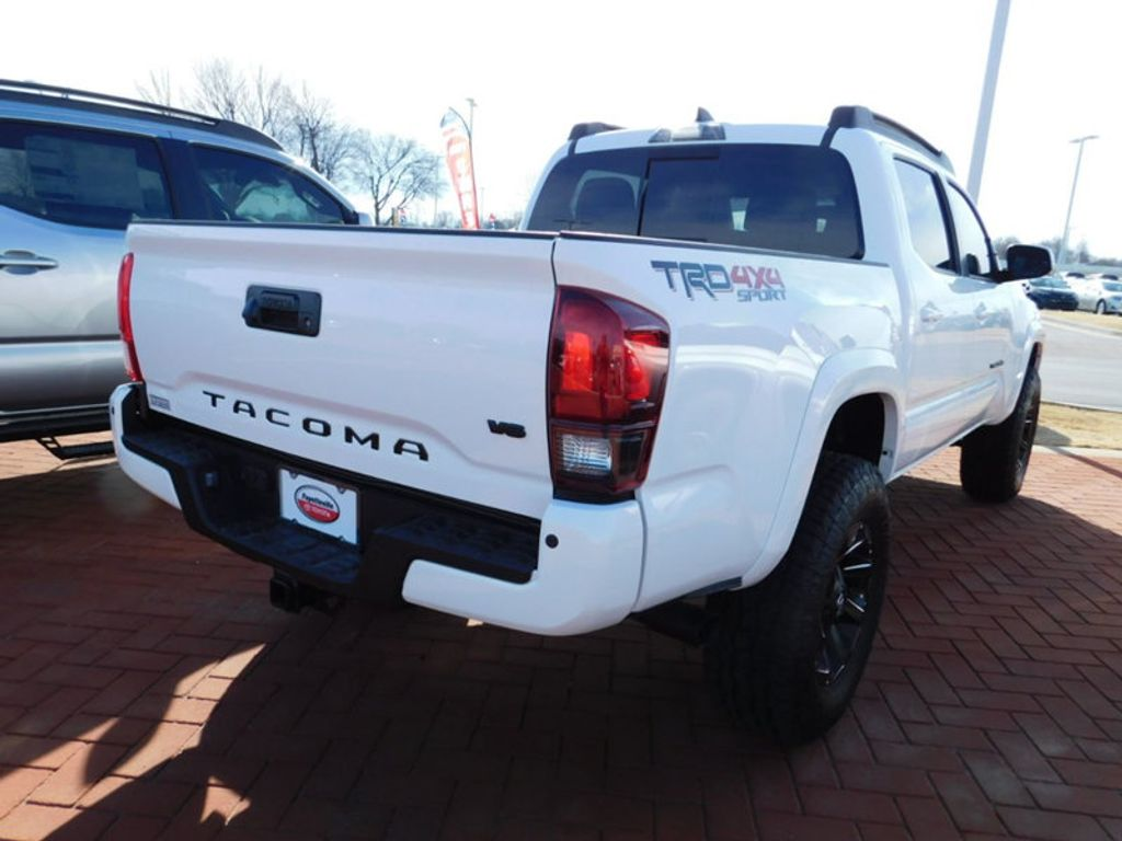 2018 new toyota tacoma trd sport double cab 5 39 bed v6 4x4 automatic at fayetteville autopark. Black Bedroom Furniture Sets. Home Design Ideas