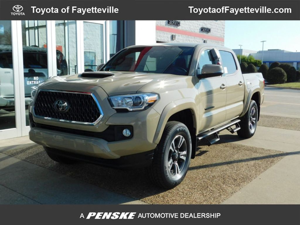 detail cab automatic bed toyota sport tacoma new double trd